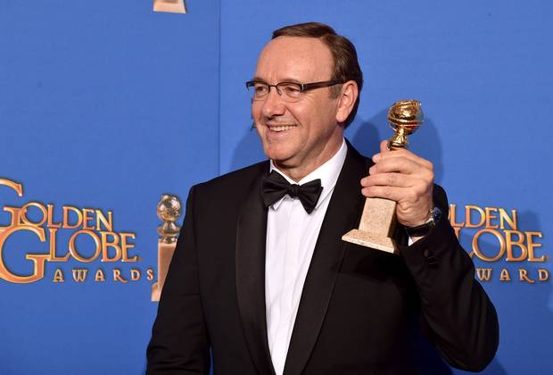 Kevin Spacey won the Best Actor Golden Globe for the hit series, House of Cards